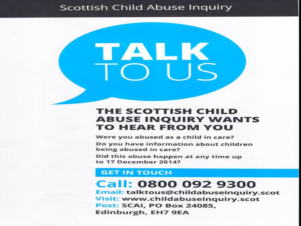 Scottish Child Abuse Inquiry